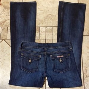 Hudson Flare leg stretch Jeans size 30 x 34